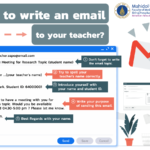Easy Email Format to Contact your Teacher or School